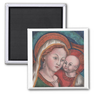 Mother of Good Counsel Square Fridge Magnet
