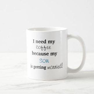 Mother of Groom Gift - Coffee mug/cup Coffee Mug