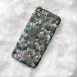 Mother Of Pearl Black Tile Star Diamond iPhone 6 Case