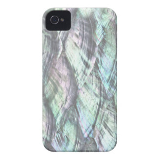 MOTHER OF PEARL Blue Print Barely iPhone 4 Case