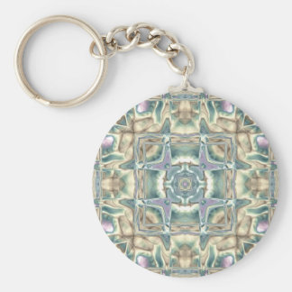 Mother of Pearl Key Ring
