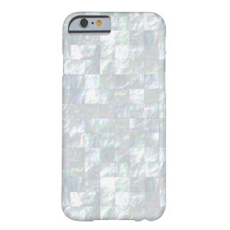 Mother Of Pearl Mosaic Barely There iPhone 6 Case