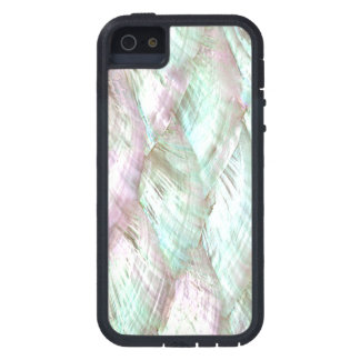 MOTHER OF PEARL Pink White Print Tough iPhone 5 iPhone 5 Case