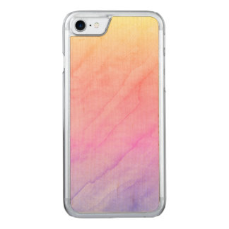 Mother of Pearl Shell Watercolor Stone Carved iPhone 7 Case