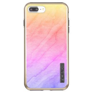 Mother of Pearl Shell Watercolor Stone Incipio DualPro Shine iPhone 8 Plus/7 Plus Case