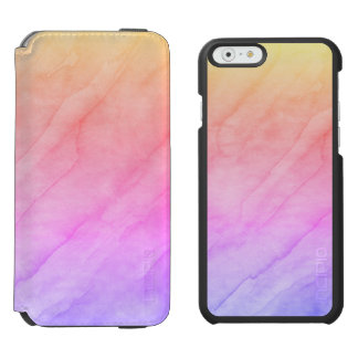 Mother of Pearl Shell Watercolor Stone Incipio Watson™ iPhone 6 Wallet Case