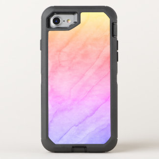 Mother of Pearl Shell Watercolor Stone OtterBox Defender iPhone 8/7 Case