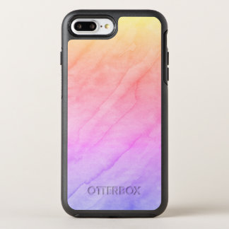 Mother of Pearl Shell Watercolor Stone OtterBox Symmetry iPhone 7 Plus Case