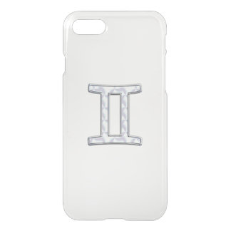 Mother of Pearl Style Gemini Zodiac Sign iPhone 7 Case