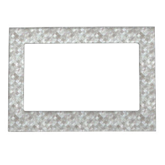 Mother of Pearl Style. Magnetic Picture Frame