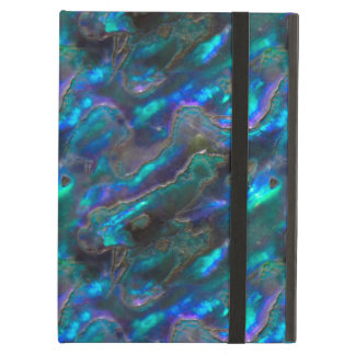 Mother Of Pearl Texture Blue Photo Pattern iPad Air Case