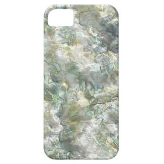 Mother Of Pearl White Abstract Swirl iPhone 5 Cases