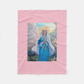 Mother of Salvation baby blanket