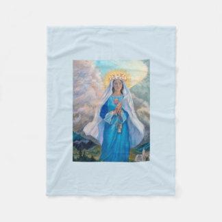 Mother of Salvation baby fleece blanket