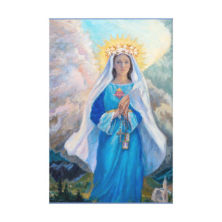 Mother of Salvation Canvas Print medium size