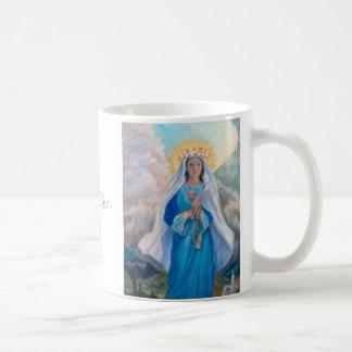 Mother of Salvation white 7 oz mug