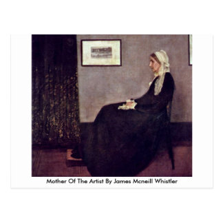Mother Of The Artist By James Mcneill Whistler Postcard
