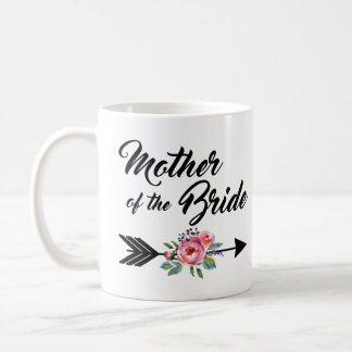 Mother of the Bride Arrow Coffee Mug