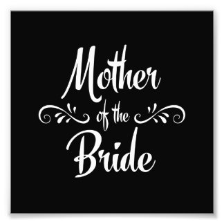 Mother of the Bride Art Photo