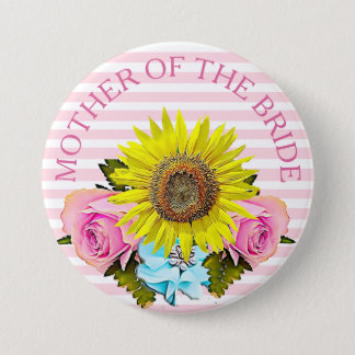 Mother of the Bride bridal shower button