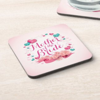 Mother of the Bride Candy Hearts   Coaster