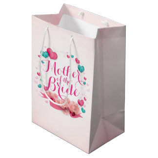 Mother of the Bride Candy Hearts Gift Bag