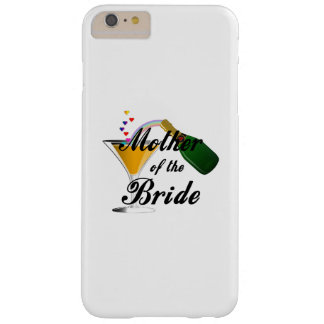 Mother Of The Bride Champagne Toast Barely There iPhone 6 Plus Case