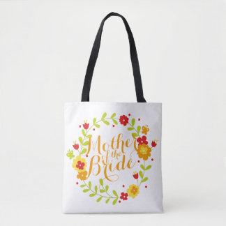 Mother of the Bride Cheerful Wreath Wedding Bag