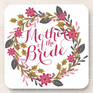 Mother of the Bride Christmas Wedding | Coaster