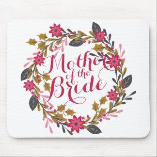 Mother of the Bride Christmas Wedding | Mousepad