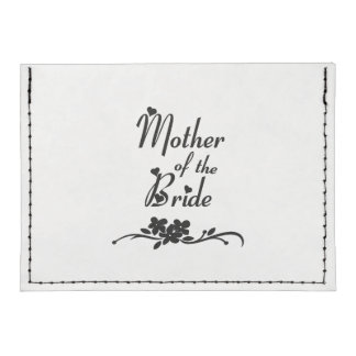 Mother of The Bride Tyvek® Card Wallet