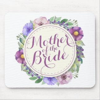 Mother of the Bride Elegant Floral Mousepad