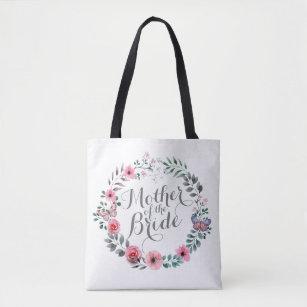 Mother of the Bride Elegant Floral Wedding Tote Ba