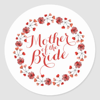 Mother of the Bride Elegant Wedding | Sticker