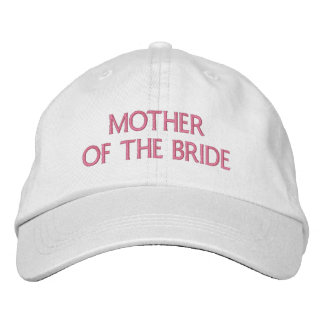 Mother of The bride Embroidered Hat