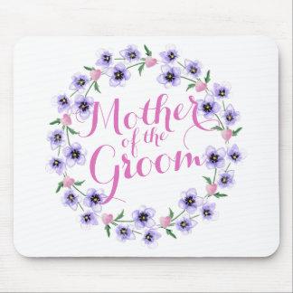 Mother of the Bride Groom Wedding Mousepad