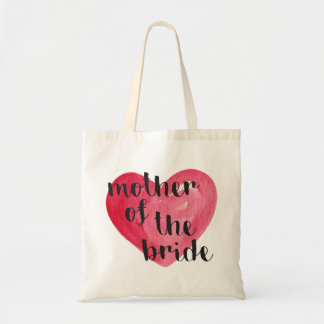 Mother of the Bride Heart Tote