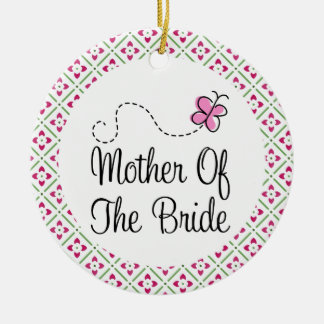 Mother of the Bride Keepsake Ornament Gift