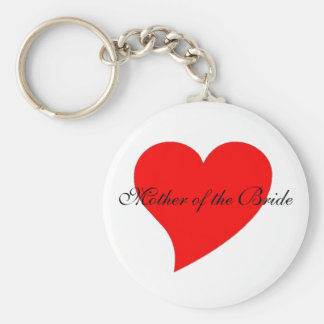 """""""Mother of the Bride"""" keychain"""