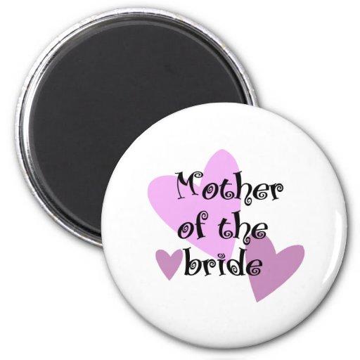 Mother of the Bride Fridge Magnet