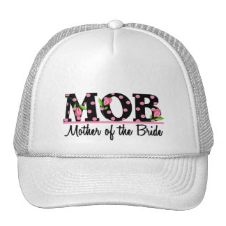Mother of the Bride (MOD) Tulip Lettering Trucker Hats