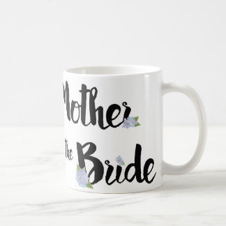 Mother of the Bride Mug - Purple Hydrangeas