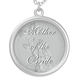 Mother of the Bride Necklace - Floral Wedding