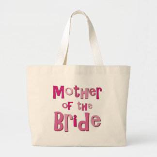 Mother of the Bride Pink Brown Tote Bags