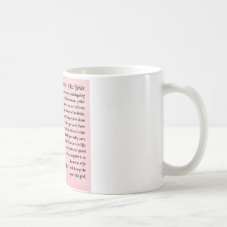 Mother of the Bride Poem -  Roses Basic White Mug