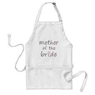 Mother of the Bride Standard Apron