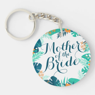 Mother of the Bride Summer Wedding Keychain
