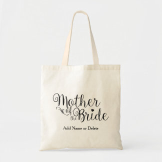 Mother of the Bride Tote Budget Canvas Tote Bag