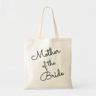Mother of the Bride Tote, Cursive Tote Bag