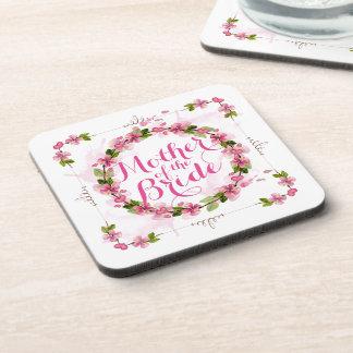 Mother of the Bride Watercolor   Coaster
